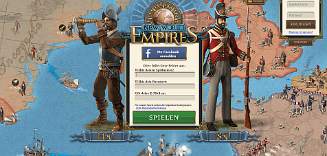 New World Empires Strategie Browserspiel