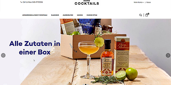 Partnerprogramm Home-Cocktails.de